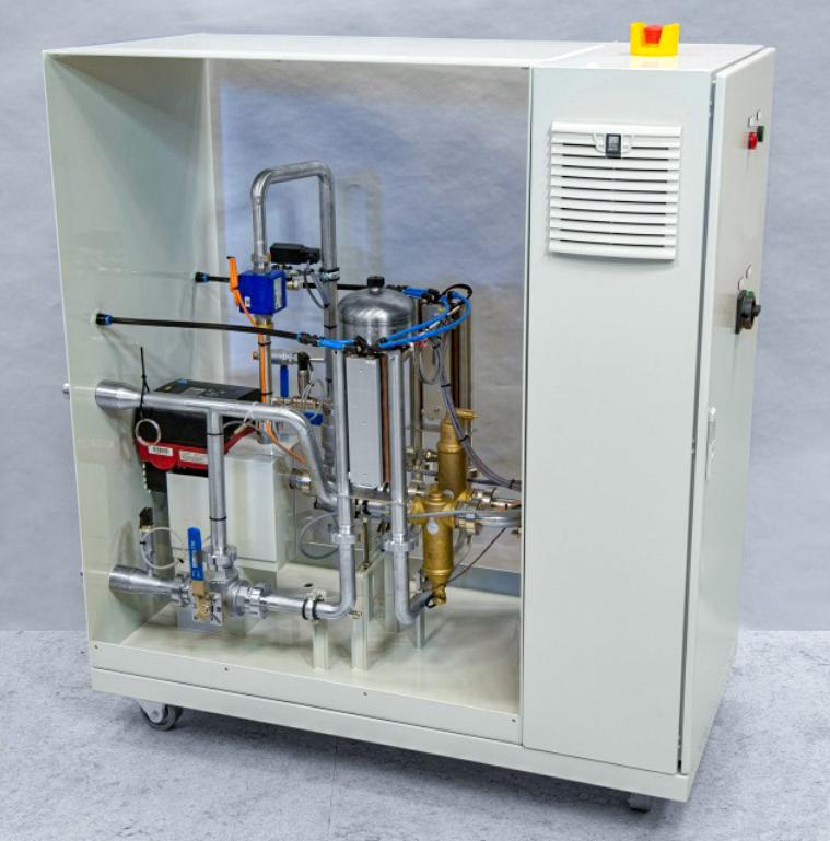 NLR chiller using liquid to liquid Peltier cooling