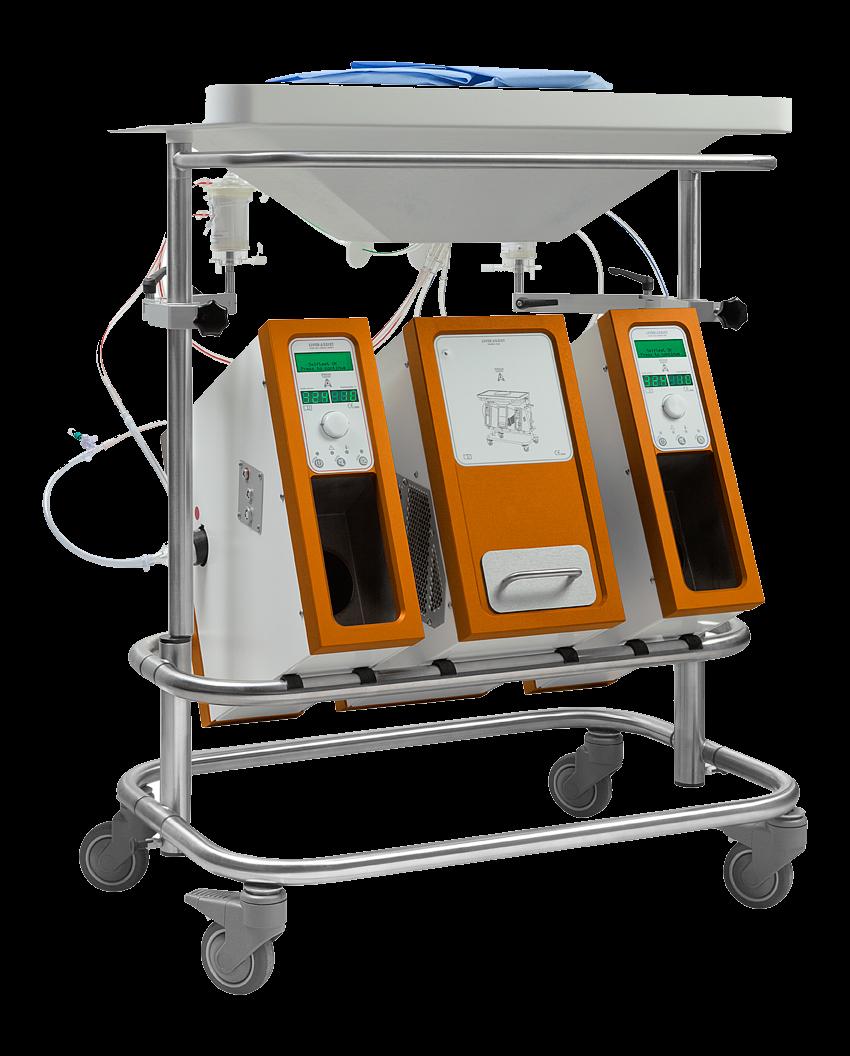 Organ assist liver assist peltier cooling application