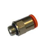 Push-in connector liquid koelers