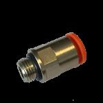 Push-in connector liquid koelers