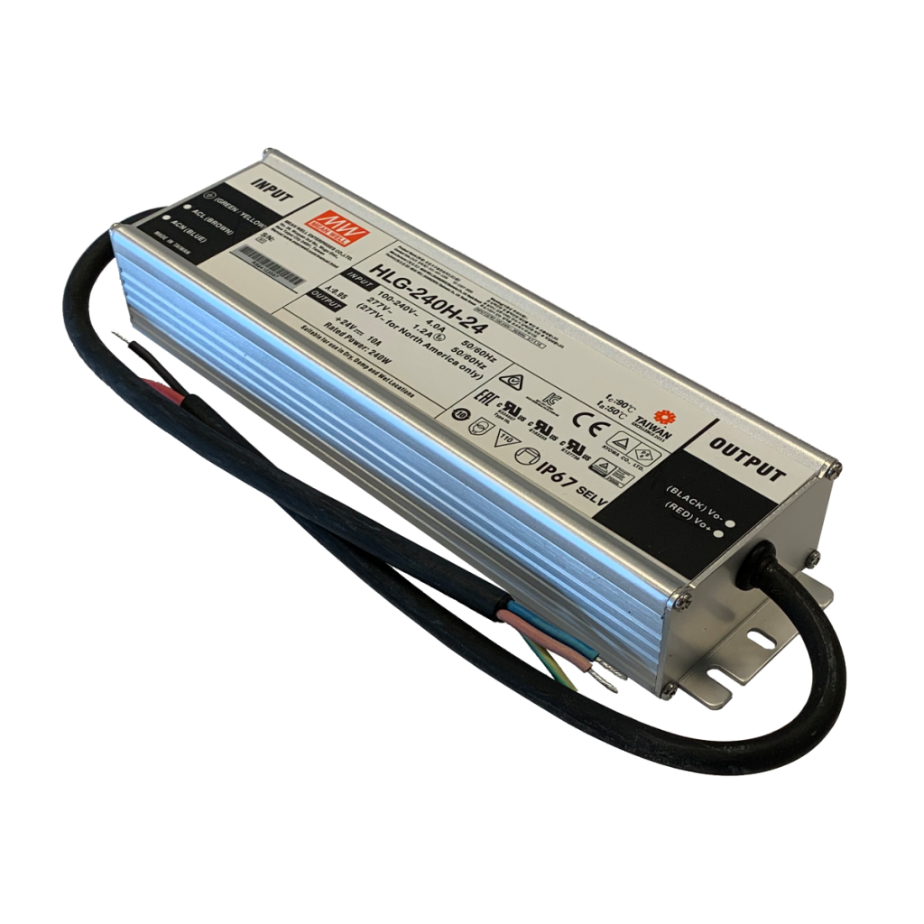 240W/24VDC power supply